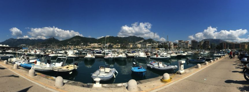 How to get from Salerno to Amalfi